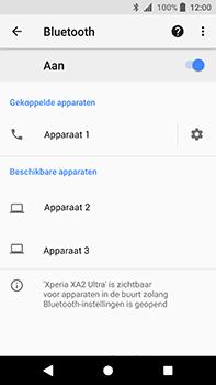 Sony Xperia XA2 Ultra - Bluetooth - koppelen met ander apparaat - Stap 11