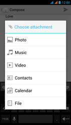 Wiko Stairway - Email - Sending an email message - Step 11