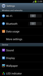 Samsung I9300 Galaxy S III - WiFi and Bluetooth - Manual configuration - Step 4