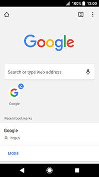 Sony Xperia XA2 Ultra - Internet - Internet browsing - Step 16