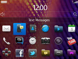 BlackBerry 9360 Curve - SMS - Manual configuration - Step 3
