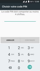 Crosscall Trekker M1 Core - Sécuriser votre mobile - Activer le code de verrouillage - Étape 7