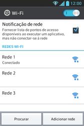 LG E612 Optimus L5 - Wi-Fi - Como configurar uma rede wi fi - Etapa 8