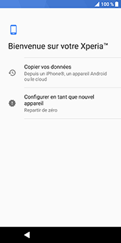 Sony Xperia XZ2 - Premiers pas - Configuration de l
