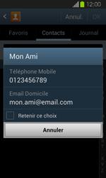 Samsung Galaxy Express - Contact, Appels, SMS/MMS - Envoyer un SMS - Étape 7