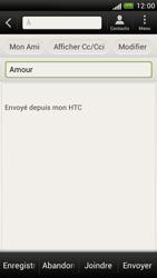 HTC Z520e One S - E-mail - Envoi d