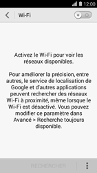 Huawei Ascend Y550 - Wifi - configuration manuelle - Étape 3