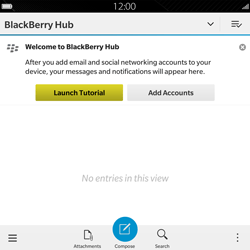 BlackBerry Passport - Email - Sending an email message - Step 4