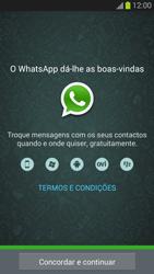 Samsung Galaxy S3 - Aplicações - Como configurar o WhatsApp -  5