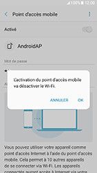 Samsung Galaxy A3 (2017) (A320) - Internet et connexion - Partager votre connexion en Wi-Fi - Étape 12