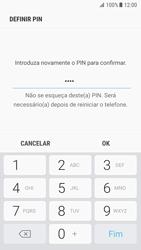 Samsung Galaxy S7 - Android Nougat - Segurança - Como ativar o código de bloqueio do ecrã -  10