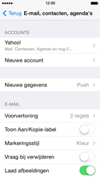 Apple iPhone 5s - E-mail - handmatig instellen (yahoo) - Stap 10