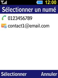 Samsung B550H Xcover 550 - MMS - Envoi d