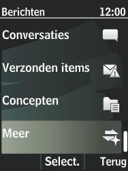 Nokia 301-1 - SMS - Handmatig instellen - Stap 4