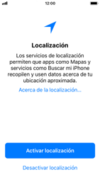 Apple iPhone SE iOS 11 - Primeros pasos - Activar el equipo - Paso 21