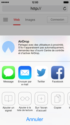 Apple iPhone 5 iOS 7 - Internet - Navigation sur Internet - Étape 5