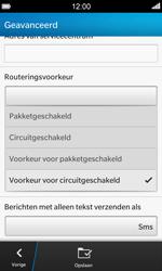 BlackBerry Z10 - SMS - SMS-centrale instellen - Stap 9