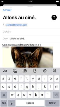 Apple iPhone 7 Plus - iOS 13 - E-mail - envoyer un e-mail - Étape 14