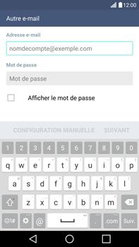 LG G4 - E-mails - Ajouter ou modifier un compte e-mail - Étape 6
