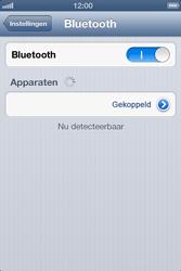 Apple iPhone 4 met iOS 6 - Bluetooth - koppelen met ander apparaat - Stap 9