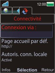 Sony Ericsson W595 - Internet - Configuration manuelle - Étape 6