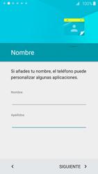 Samsung Galaxy S6 - Primeros pasos - Activar el equipo - Paso 12