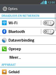 LG E430 Optimus L3 II - Buitenland - Bellen, sms en internet - Stap 5