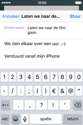 Apple iPhone 4 S iOS 9 - E-mail - E-mail versturen - Stap 8