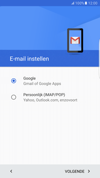 Samsung Samsung Galaxy S6 Edge+ - Android M - E-mail - e-mail instellen (gmail) - Stap 9