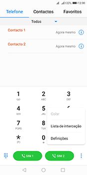 Huawei Y6 (2018) - Chamadas - Como bloquear chamadas de um número -  4