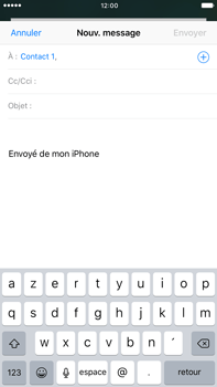 Apple iPhone 7 Plus - E-mails - Envoyer un e-mail - Étape 6