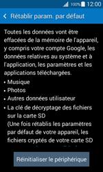 Samsung Galaxy Ace 4 - Aller plus loin - Restaurer les paramètres d'usines - Étape 6