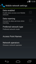 Acer Liquid E600 - Internet - Enable or disable - Step 7