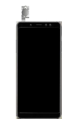 Samsung galaxy-a8-2018-sm-a530f-android-pie - Instellingen aanpassen - SIM-Kaart plaatsen - Stap 7
