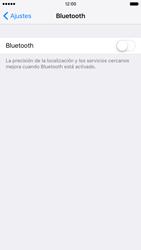 Apple iPhone 6s iOS 9 - Bluetooth - Conectar dispositivos a través de Bluetooth - Paso 4