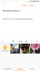 Samsung Galaxy J5 (2017) - E-mail - Sending emails - Step 12