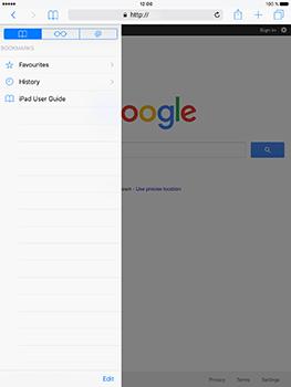 Apple iPad Pro 9.7 - iOS 10 - Internet - Internet browsing - Step 8