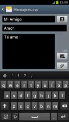 Samsung I9300 Galaxy S III - Mensajería - Escribir y enviar un mensaje multimedia - Paso 12
