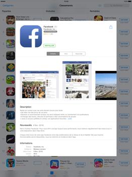 Apple iPad Pro 12.9 (1st gen) - iOS 9 - Applications - Télécharger des applications - Étape 6