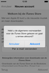Apple iPhone 4 met iOS 7 - Applicaties - Account aanmaken - Stap 10