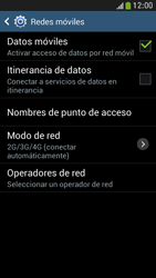 Samsung Galaxy S4 Mini - Red - Seleccionar el tipo de red - Paso 6