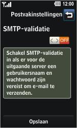 LG GD510 Pop - E-mail - Handmatig instellen - Stap 10