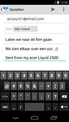 Acer Liquid Z500 - E-mail - e-mail versturen - Stap 8