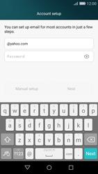 Huawei P8 Lite - E-mail - Manual configuration (yahoo) - Step 6