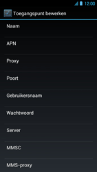 Huawei Ascend P1 LTE - Internet - Handmatig instellen - Stap 9
