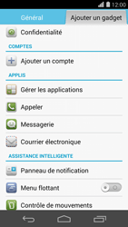 Huawei Ascend P7 - Messagerie vocale - Configuration manuelle - Étape 4