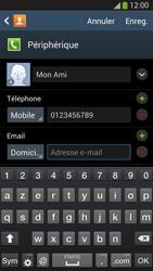 Samsung Galaxy S4 - Contact, Appels, SMS/MMS - Ajouter un contact - Étape 13