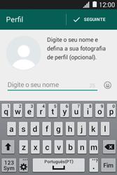 Samsung Galaxy Young II - Aplicações - Como configurar o WhatsApp -  10