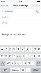 Apple iPhone 5c - E-mail - envoyer un e-mail - Étape 5