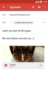 OnePlus 2 - E-mail - Hoe te versturen - Stap 14